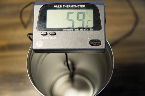 フォルテック・ハウス ステンレスタンブラー 620ml FHR-6204 温度6時間後