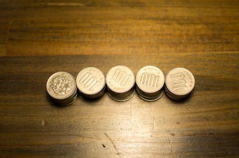 100円玉。